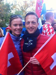 two swiss running nyc marathon 2015